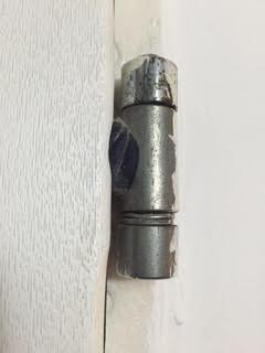 ציר דלת ממד מולחם