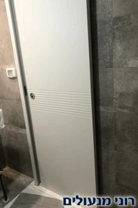תיקון דלת הזזה עץ